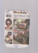 Simplicity Quilt Block Club 9234 ; #2 Grandmother's Fan & Bow Tie Blocks