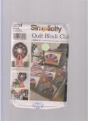 Simplicity Quilt Block Club 9234 ; #2 Grandmother's Fan & Bow Tie Blocks