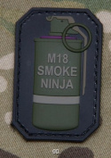 Smoke Ninja - PVC Patch