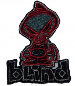 BLIND skateboards REAPER OG SICKLE BIG PATCH skateboard