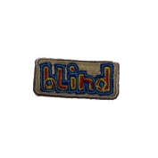 BLIND skateboards BLIND LOGO PATCH skateboard GOLD