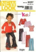 New Look ...for Kids Pattern #6337 SIZE