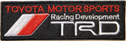 Toyota Motorsport Trd Racing Development Logo Jacket Polo T Shirt Patch Sew Iron on Embroidered Badge Sign Size