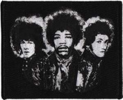 Application Jimi Hendrix Aye Back Cover Patch