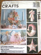 MCCALLS CRAFTS #7346 - A VICTORIAN CHRISTMAS - MULTIPLE PROJECTS