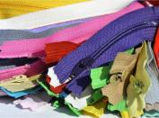 23cm BRIGHT YKK Zippers #3 Skirt & Dress - Assortment of Colours