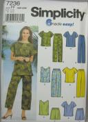 Simplicity Sewing Pattern 7236 Plus Size Sportswear