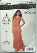 New Look 6181 Sewing Pattern Misses Workroom From Project Runway Dress Size 8-18