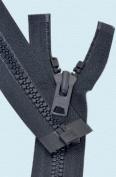 90cm Vislon Zipper ~ YKK #10 Moulded Extra-Heavy Separating - 560 Navy
