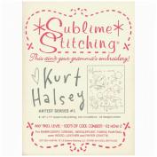 Sublime Stitching Embroidery Patterns Artist Series-Kurt Halsey #1