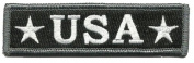 U.S.A. Tactical Morale Patch - Red White & Blue
