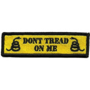 Don't Tread On Me Tactical Morale Patch - Yellow