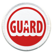 Rescue Ocean Swimming Pool LIFEGUARD Safety 7.6cm Sew-on Patch