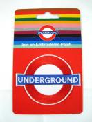 (London) Underground iron-on / sew-on cloth patch