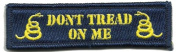 Don't Tread On Me Tactical Morale Patch - Navy Blue