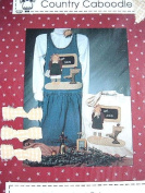 EDUCATED EDNA APPLIQUE PATTERN #121 FROM THE WHOLE COUNTRY CABOODLE