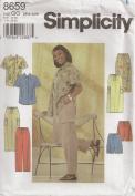 Simplicity 8659, Women's Wardrobe, Size GG(26W-32W), OOP