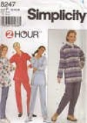 Simplicity Pattern #8247 SIZE P