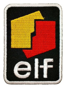 elf Motor engine oil Lubricant Logo Shirts GE01 Iron on Patches
