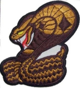 COBRA Awesome QUALITY Embroidered Biker Nice Vest Patch