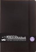 Monsieur Notebook Black Leather Fountain Medium
