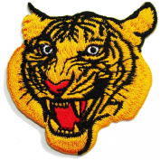 Tiger Head, Iron on Patches Animal