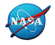 NASA Logos Iron on Patches #Blue