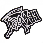 DEATH Music Songs Rock Heavy Metal Music Band Embroidered Iron On Patches # 1