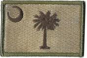 South Carolina Tactical Patch - Multitan