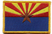 Arizona Tactical Patch - Red, Blue & Yellow