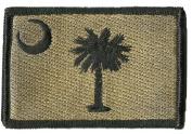South Carolina Tactical Patch - Coyote Tan