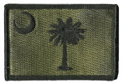 South Carolina Tactical Patch - Olive Drab