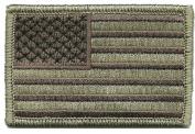 Tactical USA Flag Patch - ATACS