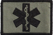 EMT Star Of Life Tactical Patch - ACU