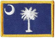 South Carolina Tactical Patch - Blue