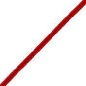 Venus Ribbon 0.3cm Rayon Soutache Braid, 12 Yards, Bright Red