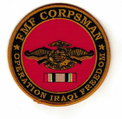 FMF Corpsman Operation Iraqi Freedom Veteran Patch