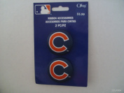 Offray MLB Ribbon Accessories Chicago Cubs Buttons 2 Count