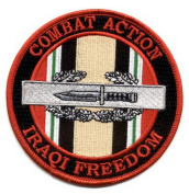 Combat Action Badge Operation Iraqi Freedom Patch