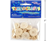 24-pc Craft Wood Buttons
