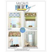 McCall's Patterns M6093 Window Treatments, One Size Only