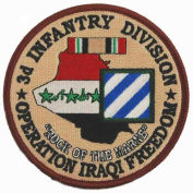 3rd Infantry Division Operation Iraqi Freedom Patch
