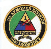 1st Armoured Division Old Ironsides Patch