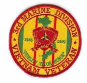 3rd Marine Division Vietnam Veteran Patch