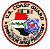 Coast Guard Operation Iraqi Freedom Patch