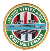 Combat Infantry Badge Oeration Enduring Freedom Veteran Patch