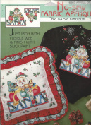 Daisy Kingdom Christmas Armful of Joy No-Sew Fabric Applique