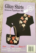 Glitzy Shirts Iron-on Applique Kit Fall Leaves Design