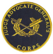 Judge Advocate General & Corp Patch