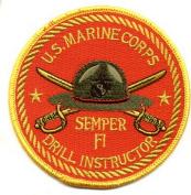Marine Corps Drill Sergeant Semper Fi Patch